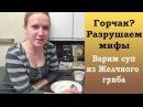 Горчак Разрушаем мифы Варим суп из желчного гриба