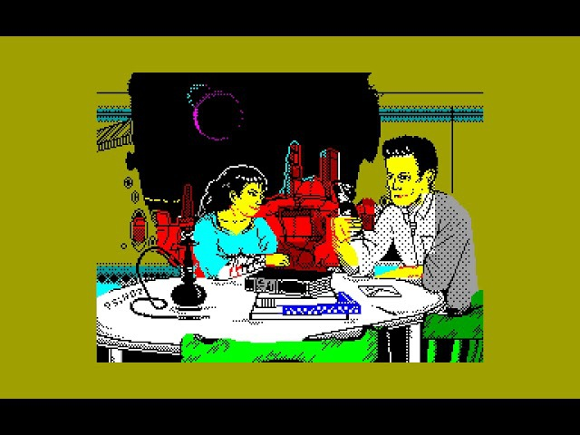 Psychoz Megademo AAABand Group zx spectrum