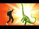 Динозавр ОЖИВАЕТ 🐉 Видео для детей ПРО ДИНОЗАВРОВ. Игрушки оживают в приложени ...