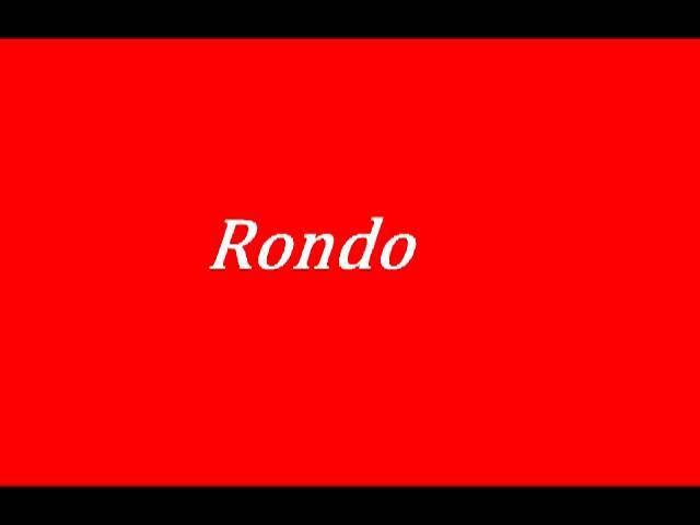 Rondo Netikėk ką priešai suoks