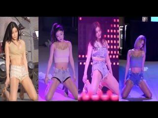 Sexy KPop Group Laysha - Emergency Fancam [4 IN 1]