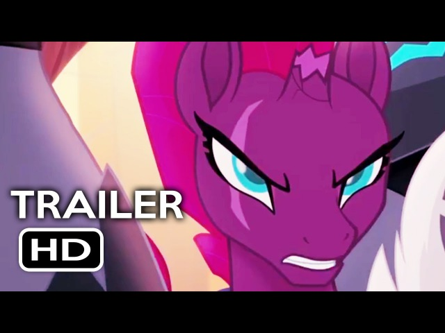 My Little Pony: The Movie Official Trailer 1 (2017) Animated Movie HD