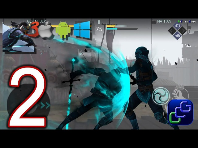 Shadow Fight 3 Android iOS Walkthrough - Part 2 - DUEL