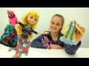 ОДЕВАЛКИ для девочек ШОППИНГ с Блонди Эвер Афтер Хай! Куклы Игры для девочек