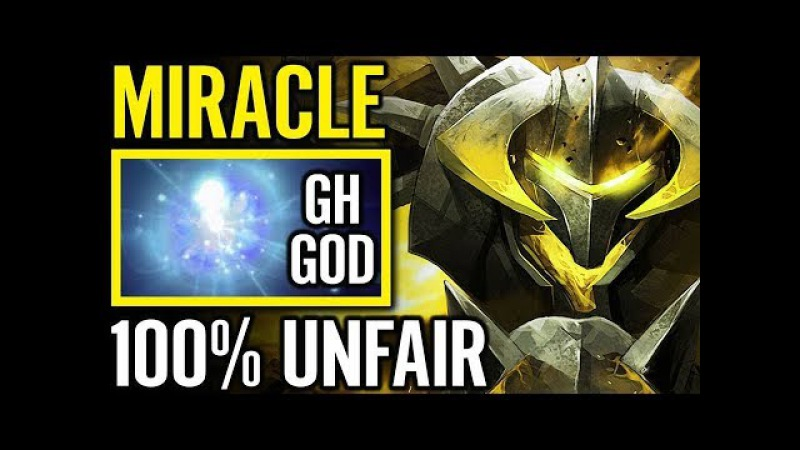 Miracle Chaos Knight 100% Unfair ÷ Gh.God IO 10K MMR Incomming Dota 2