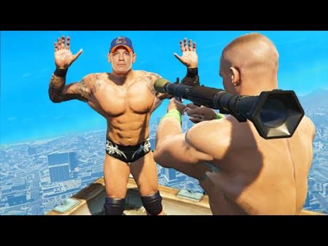 Приколы в GTA 5 | WDF 90 | Не GTA, а WWE