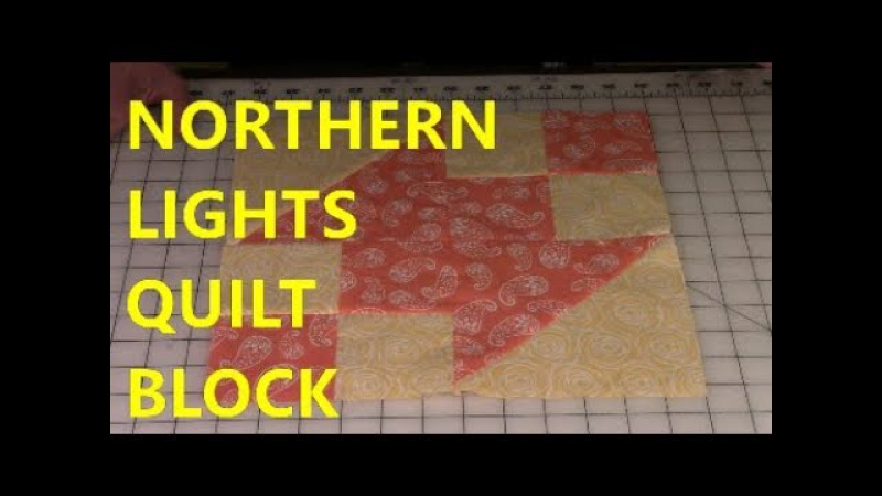 Northern Lights Quilt Block