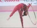 Алина Кабаева - обруч Aeon Cup 2004