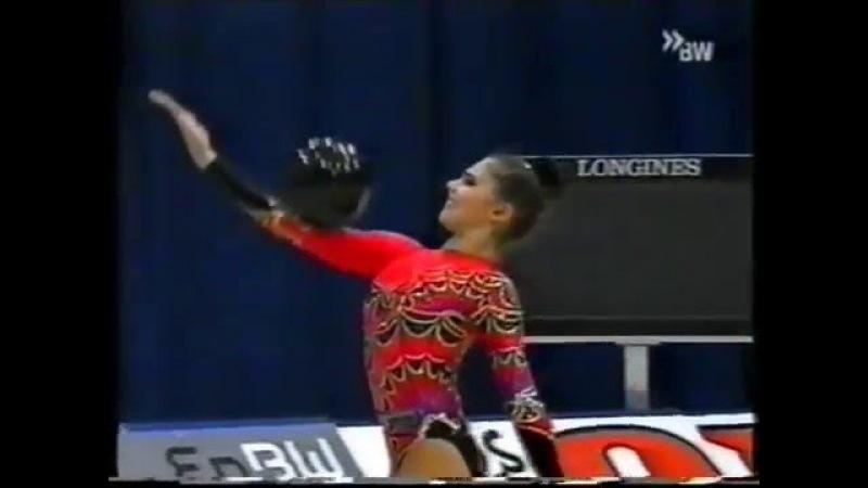 Алина Кабаева мяч финал Кубок Мира 2000 Карлсруэ