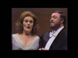 Joan Sutherland, Luciano Pavarotti, Richard Bonynge. 1979