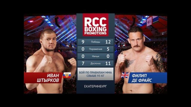 Иван Штырков vs Филип Де Фрайс Ivan Shtirkov vs Philip De Fries