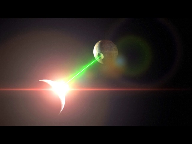 Death Star Destroys Planet Earth (After Effects VFX) Star Wars Laser Explosion