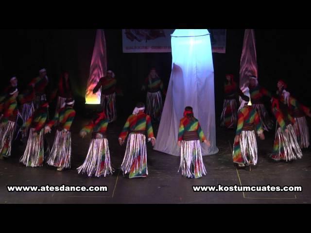Ateş halk dansları topluluğu semah semazen gösterisi