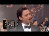 Milo Ventimiglia Brings Papa Bear Wisdom to the 2017 Emmys E! Live from the Red Carpet