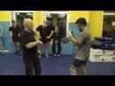 В Н Крючков Тренировка таранного прямого удара по типу Раскачной