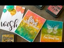 Introduction to Distress Oxide Inks ( Many Cards)