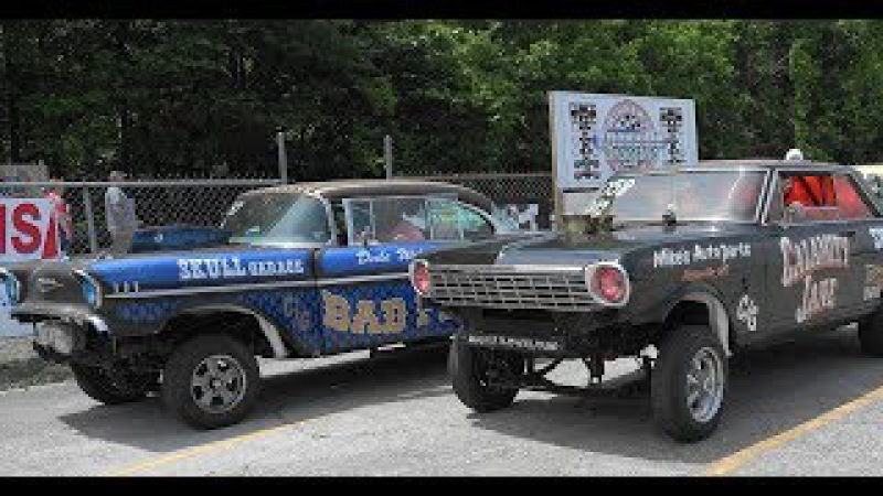 Southeast Gassers Association 2017 Knoxville Dragstrip part1