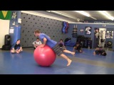 Jeff Glover Stability Ball Work at 10th Planet Burbank