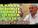 В какой валюте хранить деньги в 2018 Андрей Дуйко школа Кайлас