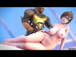 Overwatch mei and mccree fuck cartoon porn порно мультфильм full hd xxx 1080