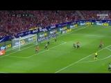Атлетико Мадрид - Малага   обзор матча