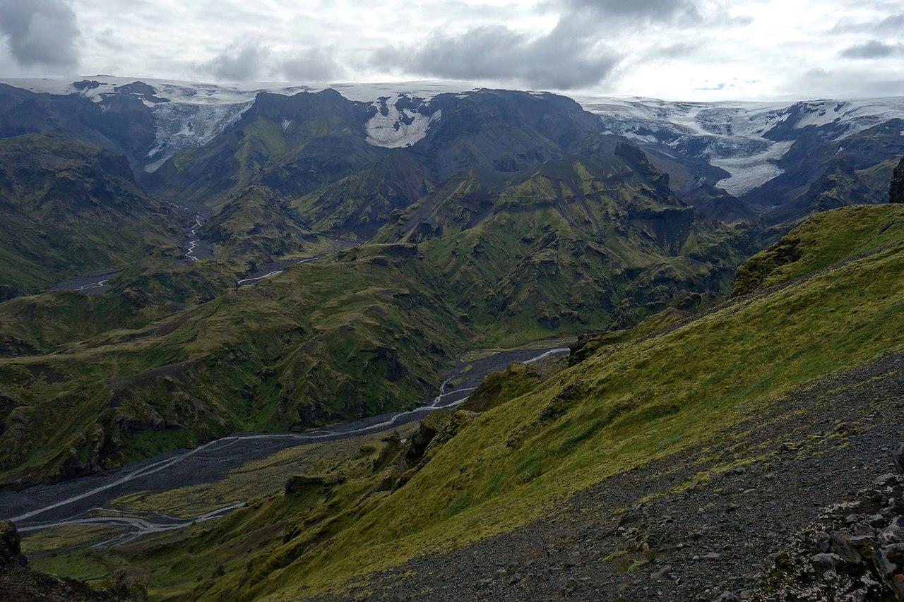 Исландия, ледник