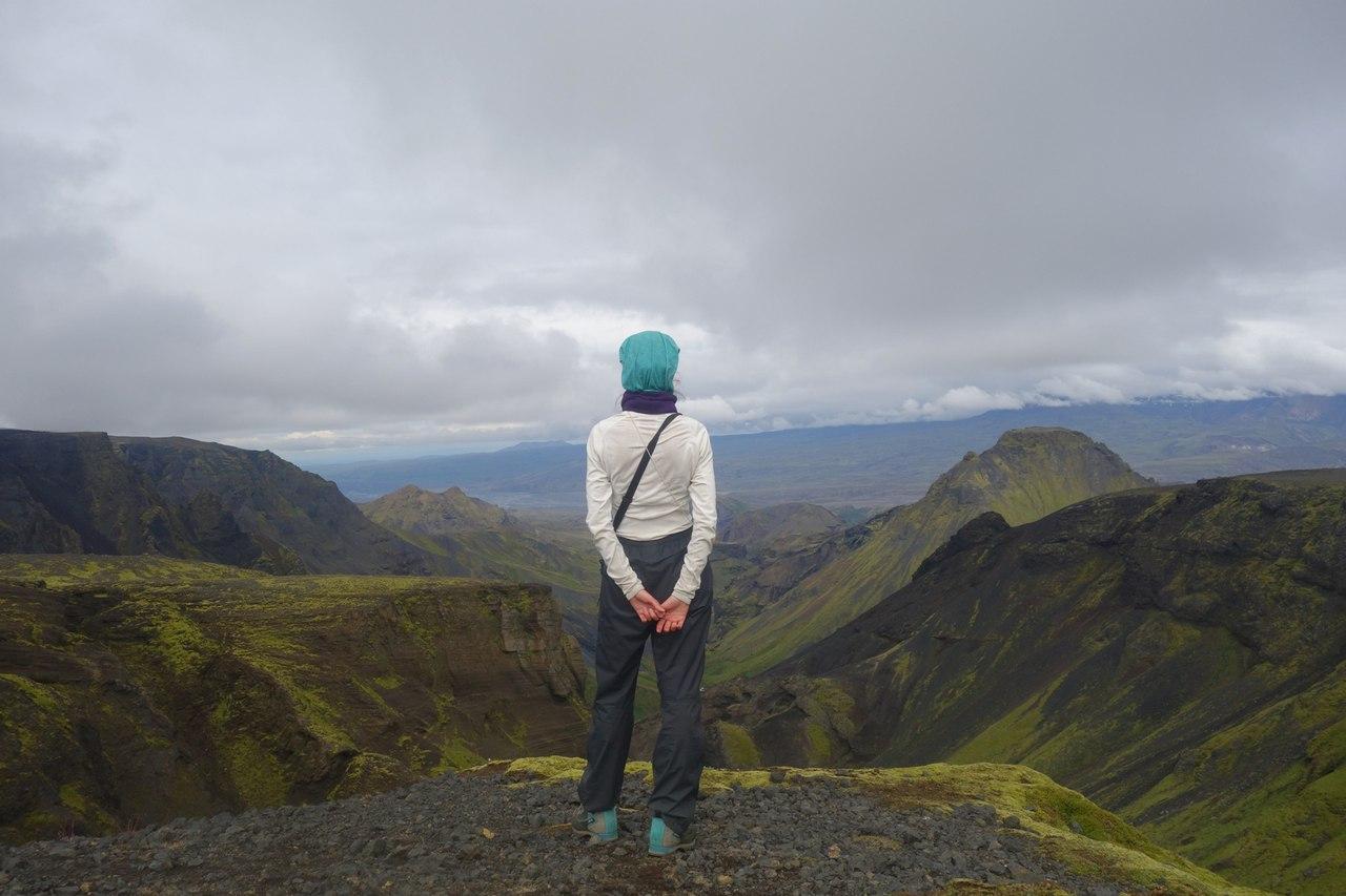 Исландия - вид с горы