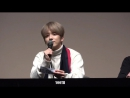 FANCAM – 30.11.17 Фан-сайн в честь выхода фигурок с участниками B.A.P в Yongsan Dong Art Hall