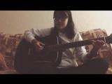 Дима Билан - Океан (Маленькая девочка шикарно поет и играет на гитаре)