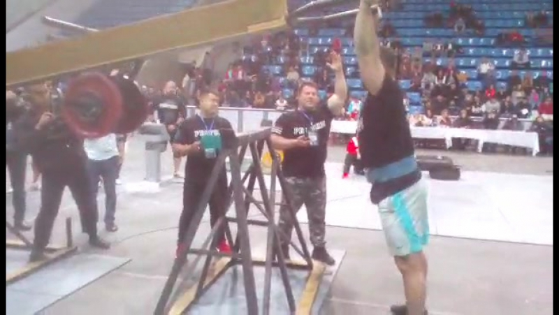 Руслан Багиров (Беларусь), жим викинга - 150 кг на 12 раз, PROFORM STRONGMAN CLASSIC - 2017💪