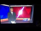 Ведущий не успел дочитать новости, как переключили на корреспондента (VHS Video)