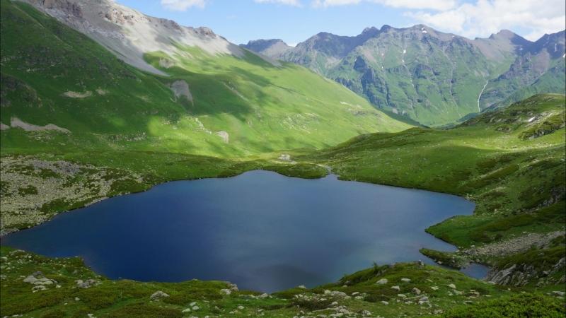 К горным озерам