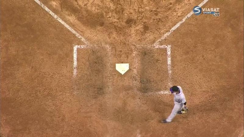 бейсбол nl wild card game Аризона-Колорадо часть 3
