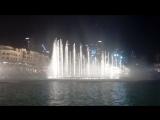 Поющие фонтаны. Дубай.