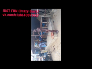 Armed robber caught, lagos, savage africa nigeria embarrassing член хуй голый naked nude cock penis public humiliation