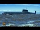 Европейцев поразил гигантский размер атомная подлодка ДмитриЙ Донской