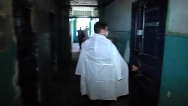 В Одесском СИЗО в ужастных условиях содержут подследственных, особенно сан.часть