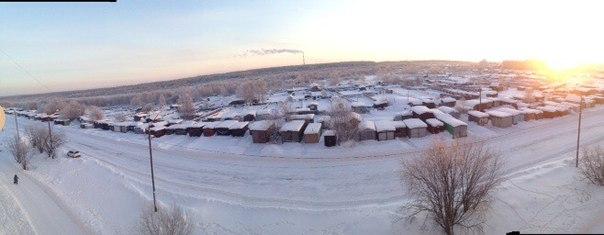 Морозное утро декабря