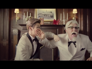 CF 170603 KFC Chizza - The Daily Life of Colonel LuHan with Another Colonel @ Lu Han