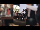 Вадим Галыгин на пресс-конференции