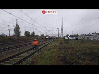 Трансляция с места ужасного ДТП в Покрове, где поезд столкнулся с пассажирским автобусом