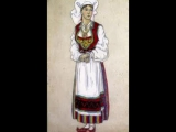 5. Татьяна Лаврова Песня Сольвейг Edvard Grieg Nikolai Roerikh