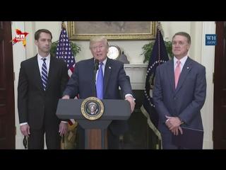 Трамп в Белом доме объявил о начале новой иммиграционной реформы в США