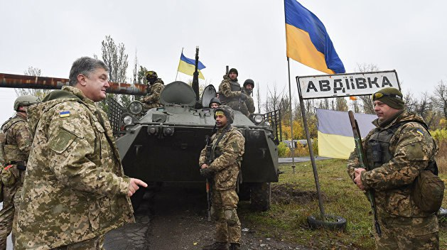 Сами говорите по-украински - Жители Авдеевки