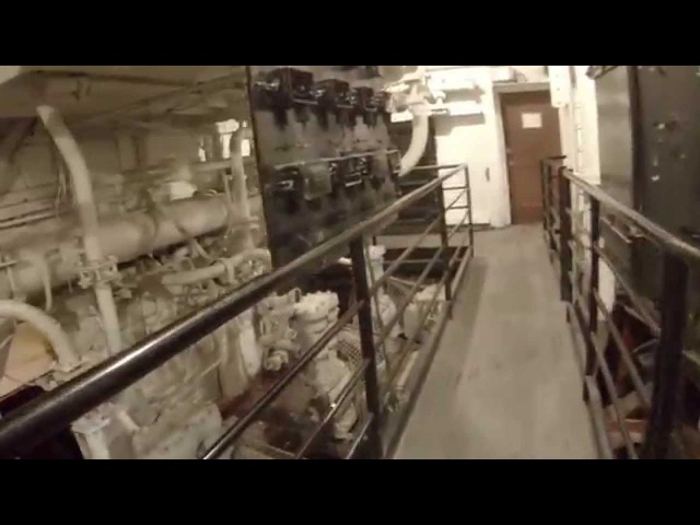 RMS Queen Mary - Engine Room