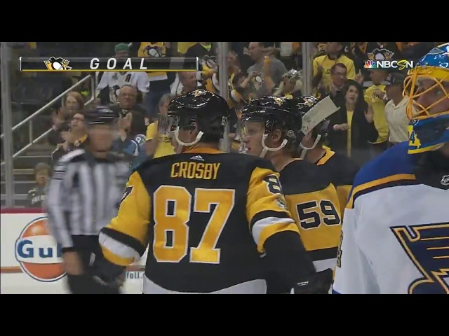 Schenn's gaffe leads to quick goals by Crosby and Sheary