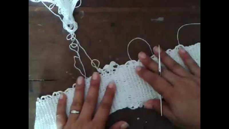 Copia de Vestido crochet paso a paso video 1