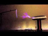 Aphex Twin Polyphonic Arduino Tesla Coil