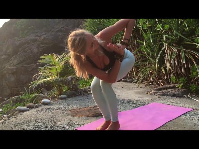 Урок йоги для начинающих