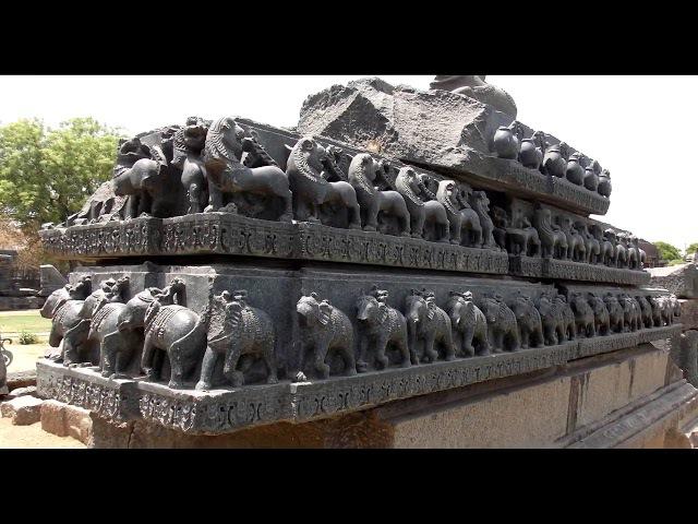 Варангал Базальтовый храм Warangal Basalt temple HD 4Mbps